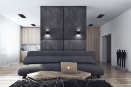 Minimalist Bachelor Pad Brings Sleek Style to the Single