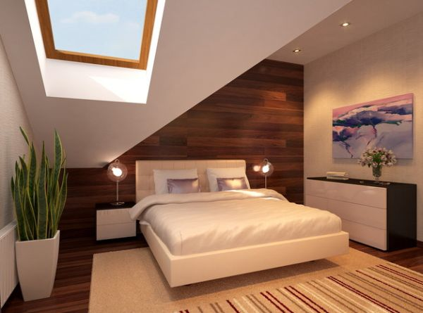 Wood Floor Small Bedroom. View in gallery Natural ventilation clubbed with lovely lighting makes a small  room appear brighter 45 Small Bedroom Design Ideas and Inspiration