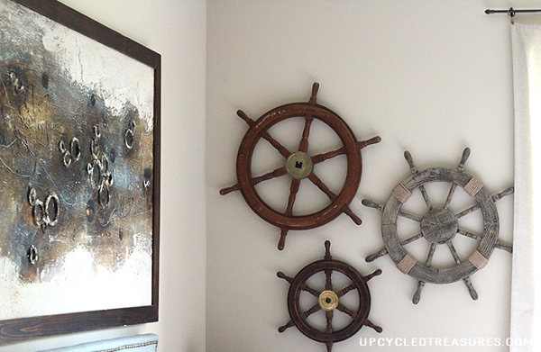 Diy nautical decor that makes a splash for Coastal wall decor ideas