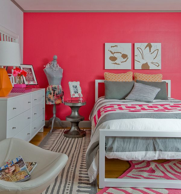 Kids Rooms Climbing Walls And Contemporary Schemes: Trendy Teen Girls Bedding Ideas With A Contemporary Vibe