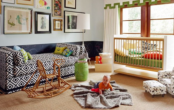 Nursery guest room idea