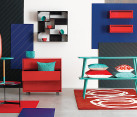 Red and blue finds from CB2