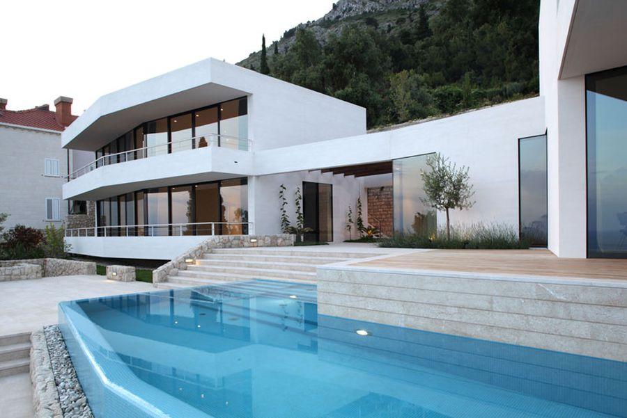 Refreshing pool at House U