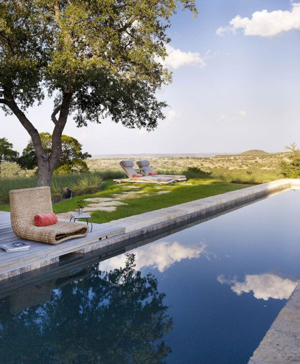 Relax next to the refreshing pool