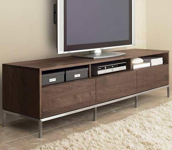 Sleek media console Fast Forward: Home Furniture & Technology of the Future