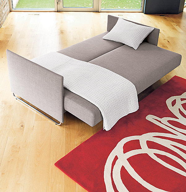 Sleek sleeper sofa