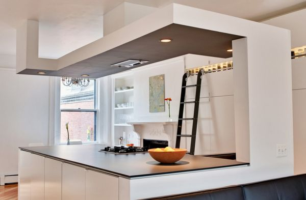 Smart recessed lighting can offer focused illumination in the kitchen