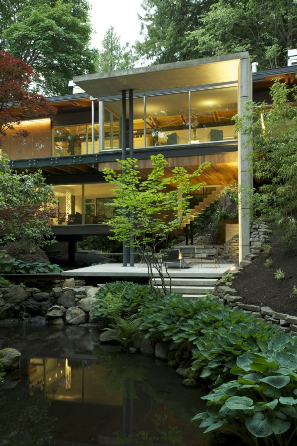 Southlands Residence in Vancouver Southlands Residence In Vancouver Offers Interiors United with Nature