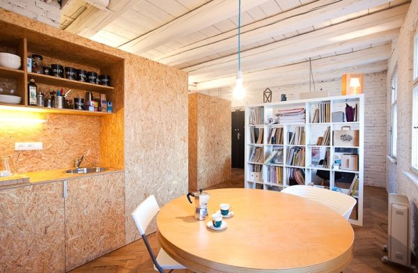 Space is an absolute premium in this revamped office