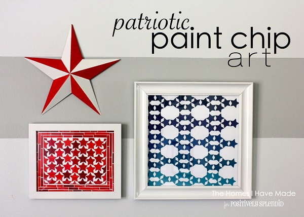 Star mosaic wall art DIY