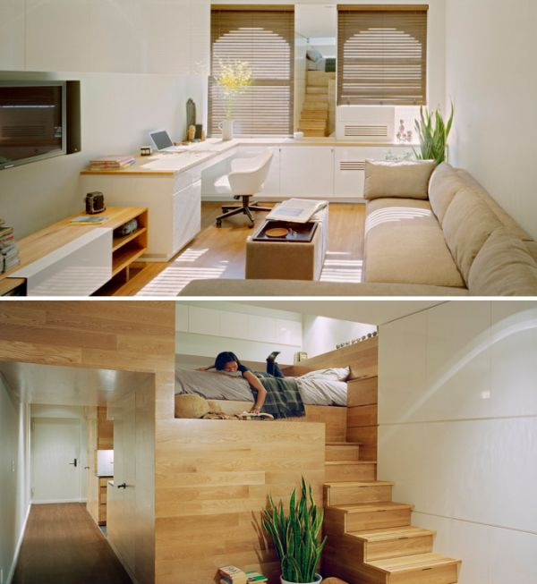 Studio apartments that make the most of their space - Space saving ideas for studio apartments ...