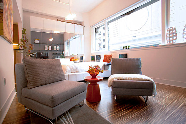 Studio Apartment Living studio apartments that make the most of their space