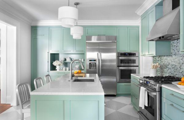 Stunning kitchen in cool neutral tones
