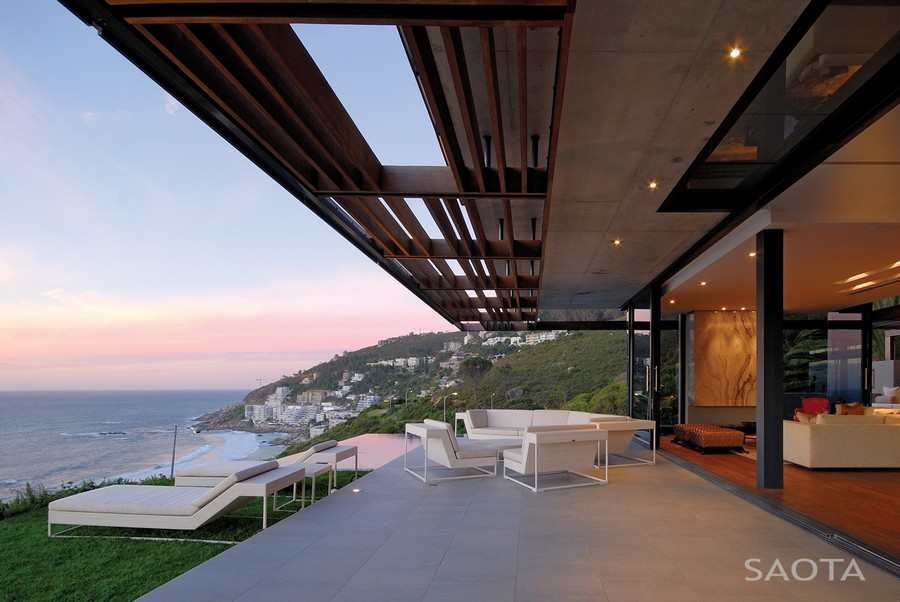 Stunning ocean views grace the Cape Town House
