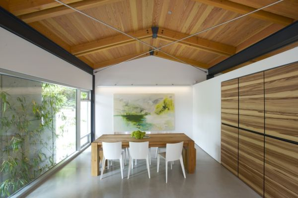 Stylish dining space