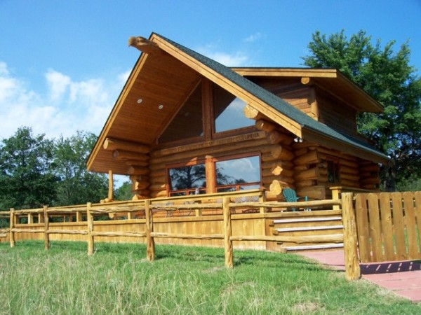 Even rustic log cabins can benefit from window film