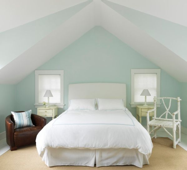 Symmetry is an absolute must for small bedrooms to appear a tad bit bigger