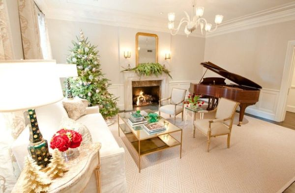 Traditional living rooms offer a perfect setting for a grand piano