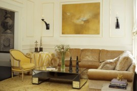Gold Dust: Modern Interiors With Glittering Golden Shine