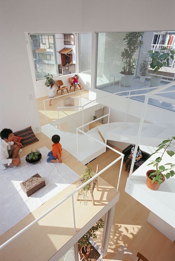 Exceptional View In Gallery View Of The Top Level Of Chayagaska House Part 3
