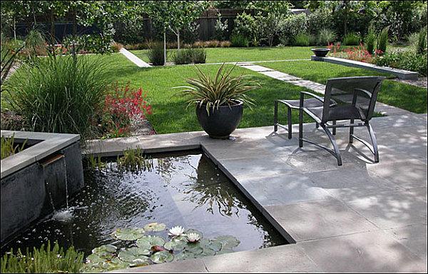 Modern landscape design tips for a manicured yard for Family garden designs