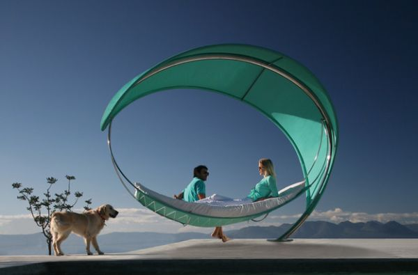 Wave hammock - Luxury draped in exquisite design!