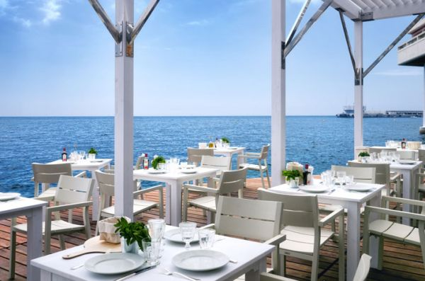 Wine and dine in style at the new floating terrace in Monaco