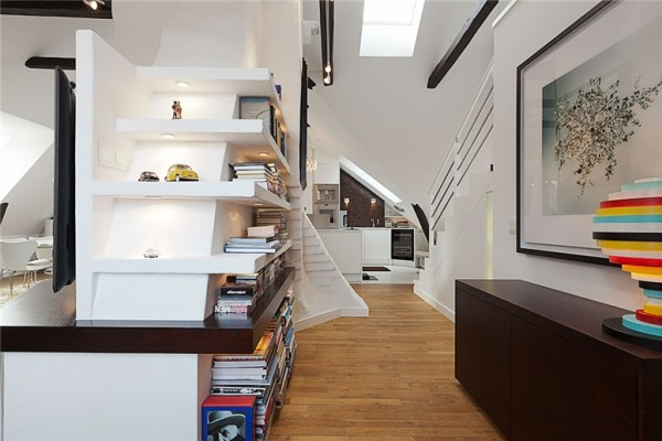 View In Gallery All White Walls Apartment