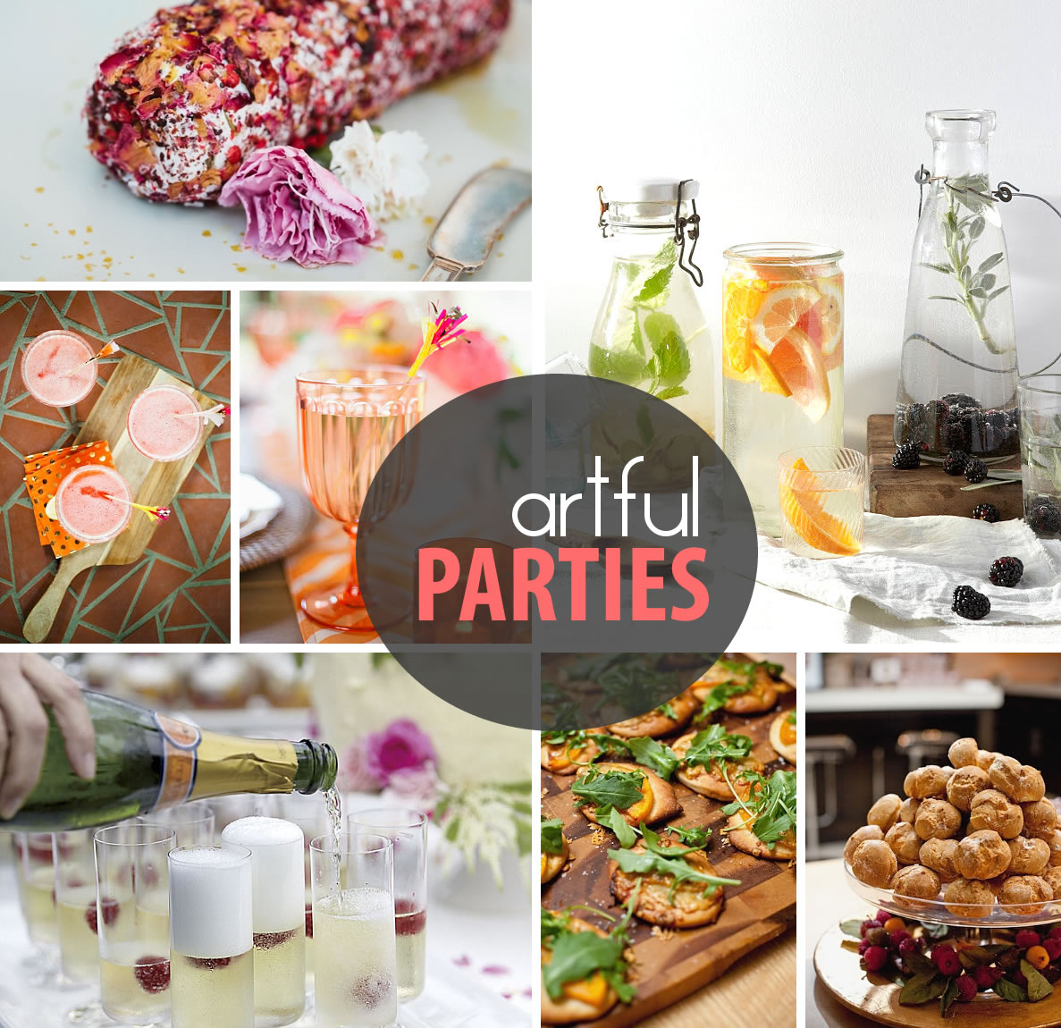 artful parties decor