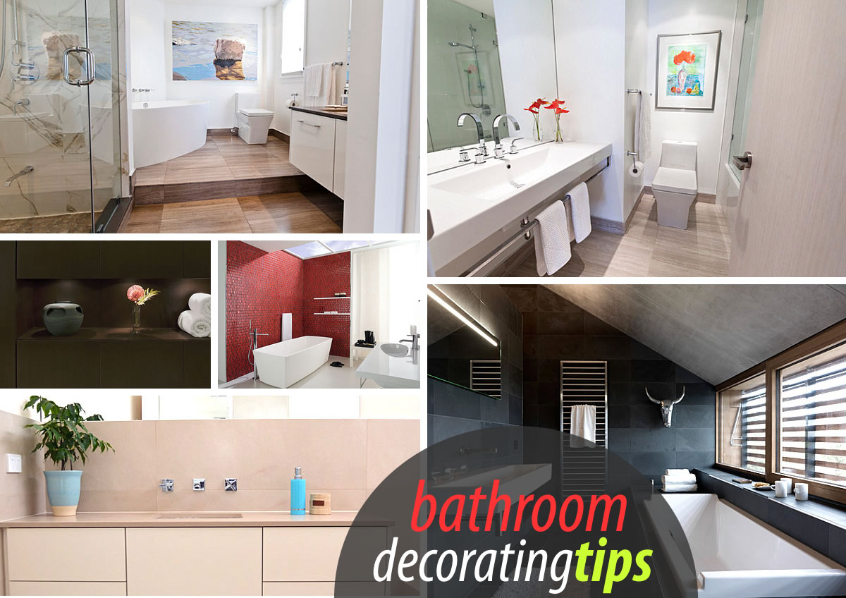 bathroom decorating Bathroom Decorating Tips for a Clean Look