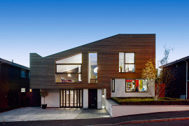 Manchester Residence Gets a Modern Makeover Encased in Warm Wooden Tones
