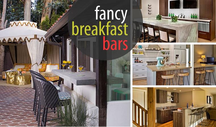 View In Gallery Fancy Breakfast Bars