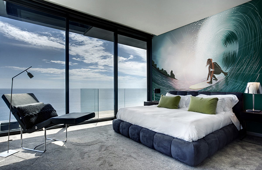 View in gallery optical ilusion wall mural