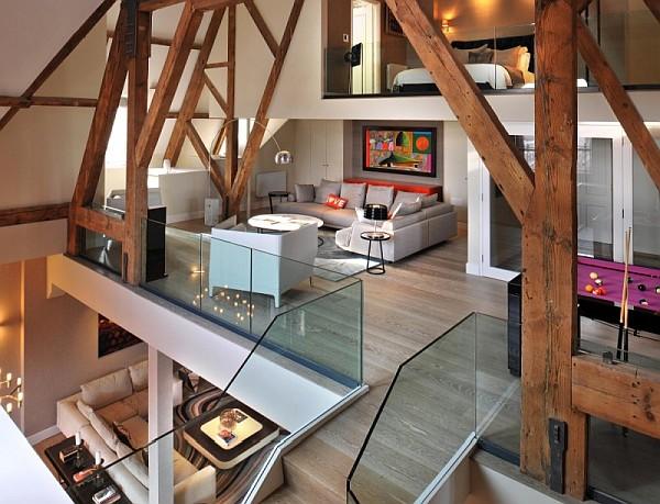 penthouse apartment st pancras chambers