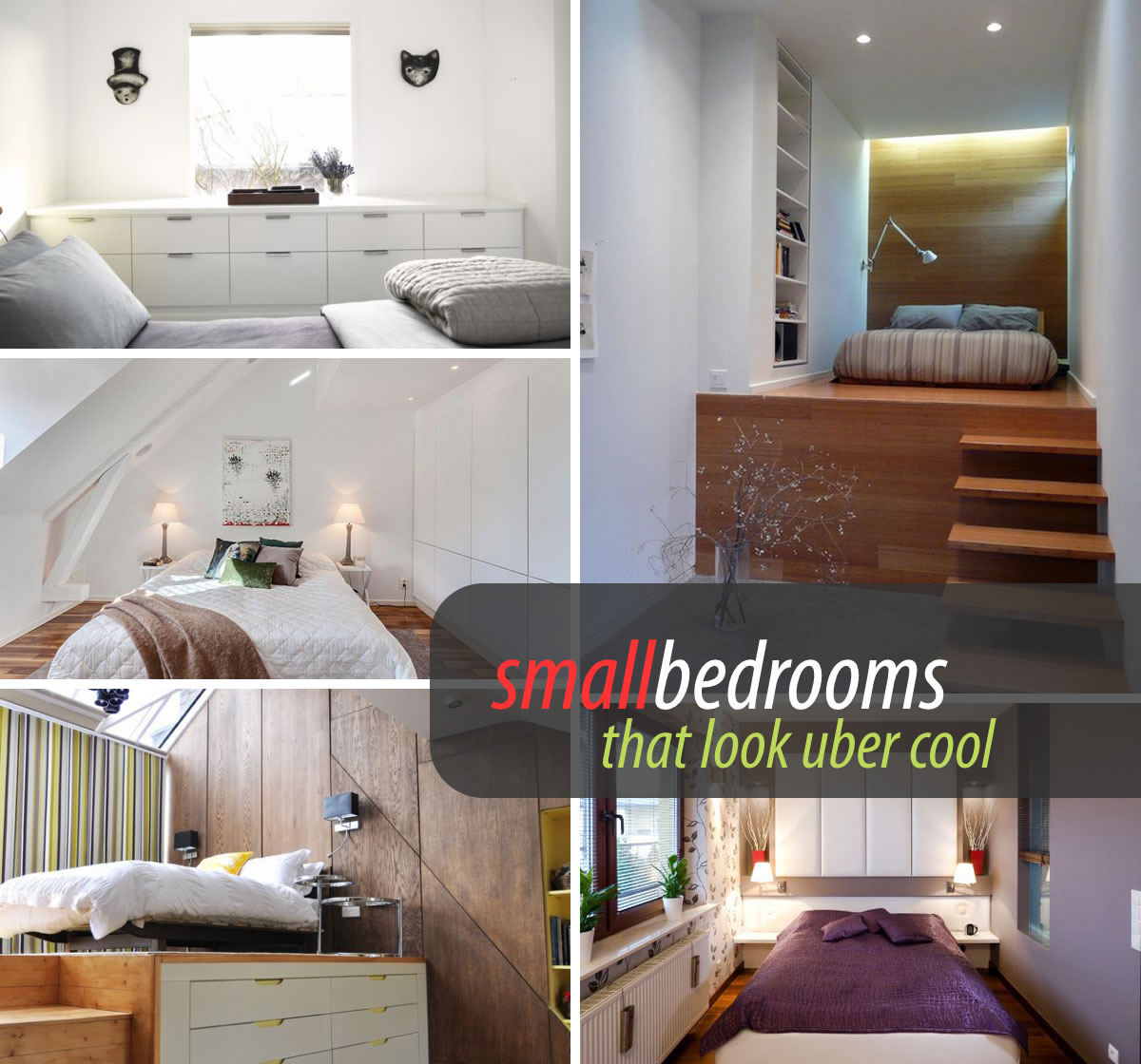 45 small bedroom design ideas and inspiration for Small space ideas