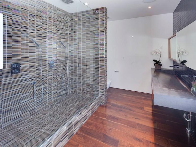 ultra modern shower