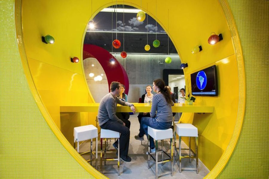 google offices milan. google moscow office campus in dublin dazzles with color and creativity offices milan