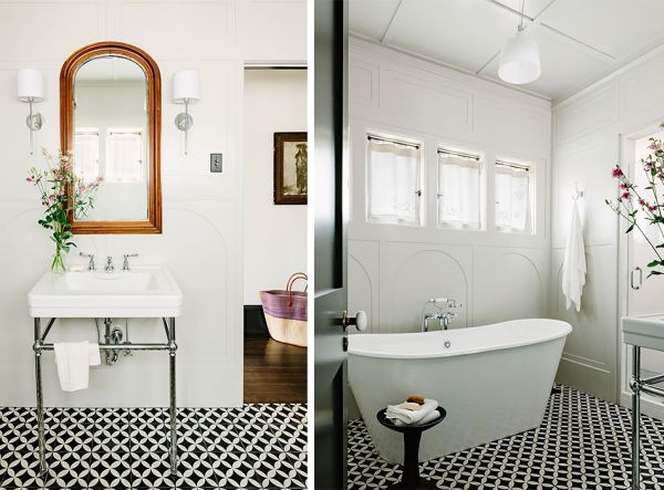 Public library transformed into a gorgeous modern home in for Pinterest bathroom
