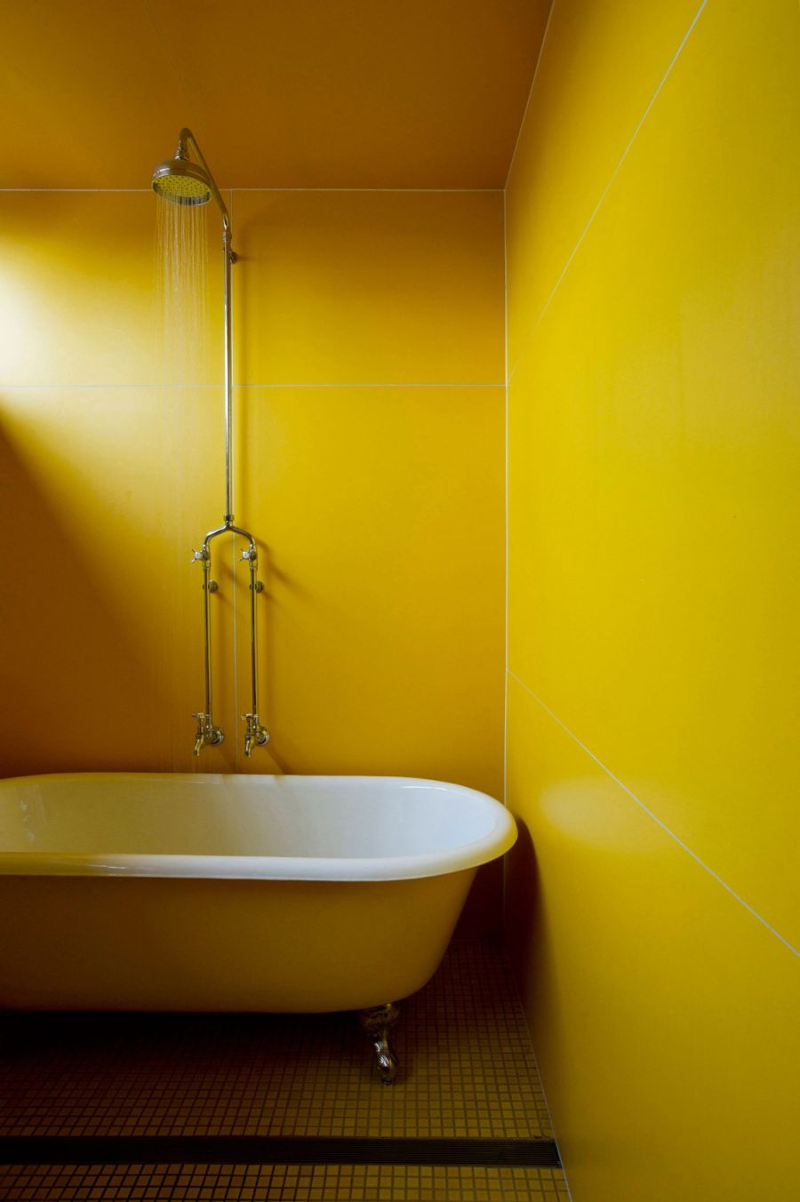 Beautiful bathroom in Yellow