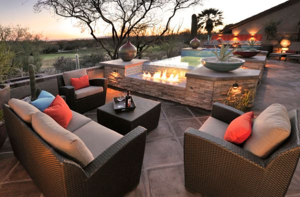 Outdoor Inspiration: Stunning Design Ideas For Fireplaces ...