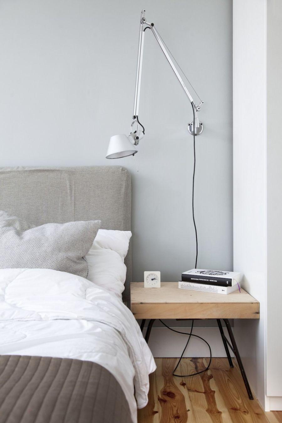 Bedroom scone lighting