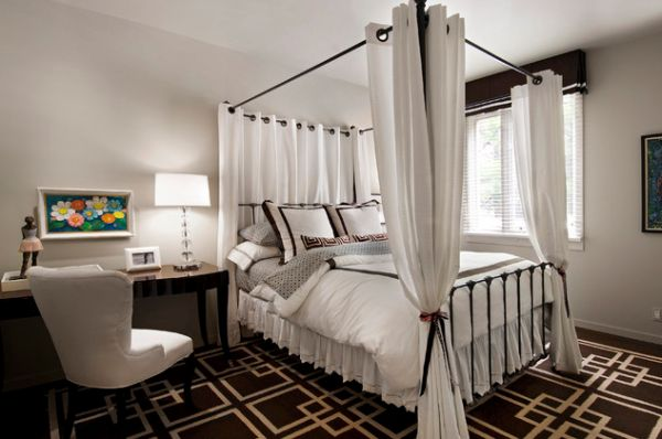 Breezy bedroom lifts your spirits instantly