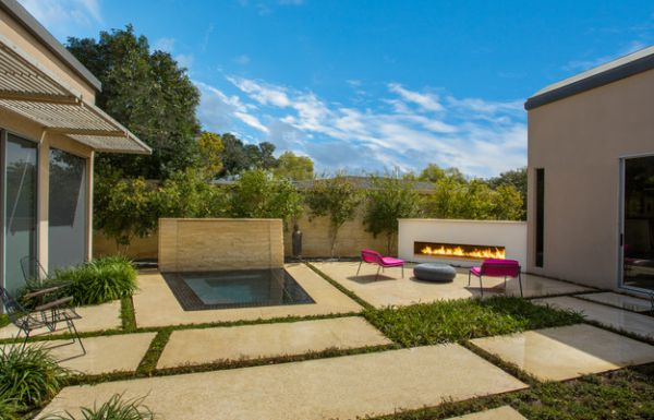 Bringing together different elements for a picture perfect patio