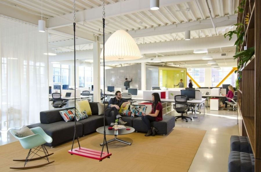 Stupendous Cool Office Space For Fine Design Group By Boora Architects Largest Home Design Picture Inspirations Pitcheantrous