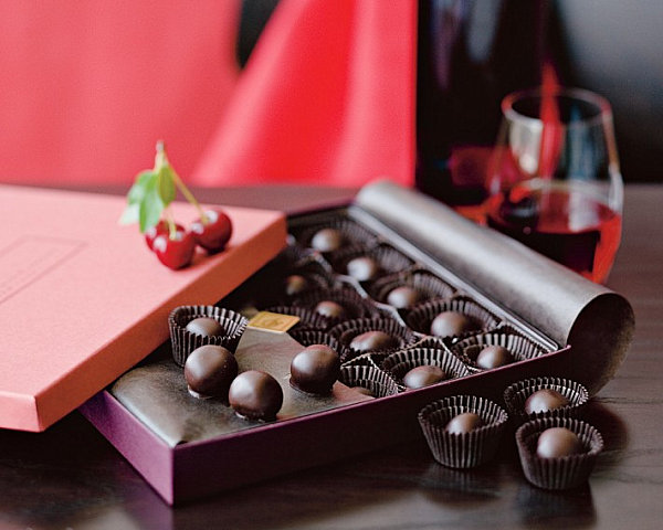 Chocolate cherries Hostess Gift Ideas That Say Thank You with Modern Style