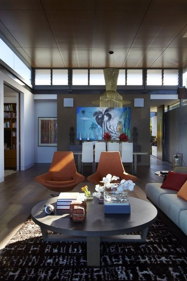 Colorful decor additions in the modern Australian home