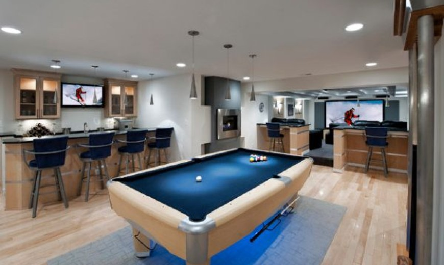 Indulge Your Playful Spirit With These Game Room Ideas - How much room for a pool table