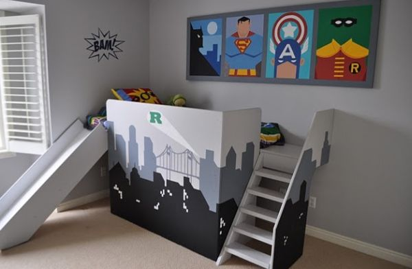 Contemporary kids' bedroom with a hint of minimalism