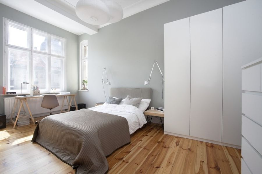 Small apartment in poznan poland showcases cool for Minimalist small bedroom design