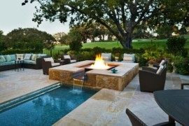 Outdoor Inspiration: Stunning To Design For Fireplaces By The Pool